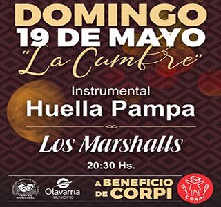 Huella Pampa y Marshalls
