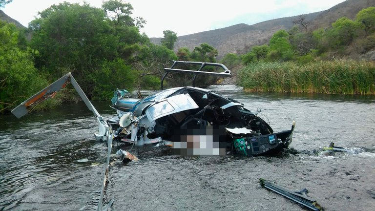 La muerte de Brito: El helicóptero cayó al impactar con el cable de la tirolesa, confirmó la JST