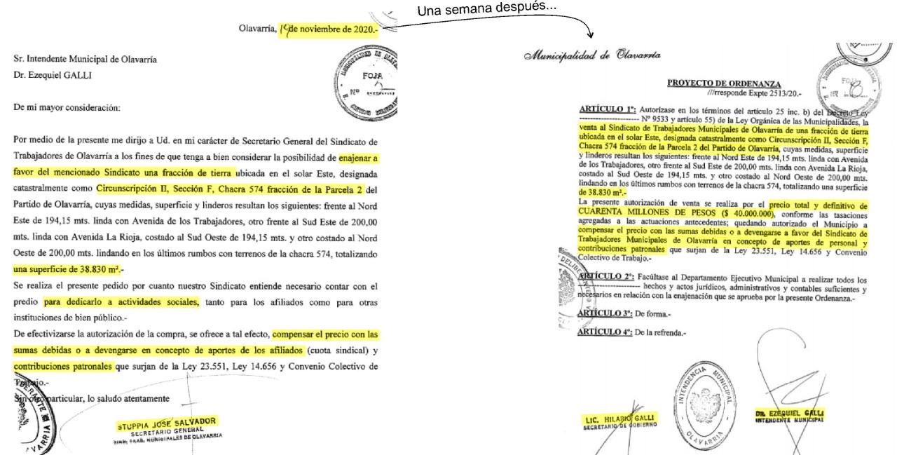 """El Partido Obrero denuncia """"venta de terrenos fiscales al Sindicato de Trabajadores Municipales"""""""