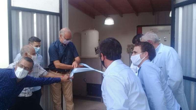 Gollan inauguró una Planta de Oxígeno en Rauch