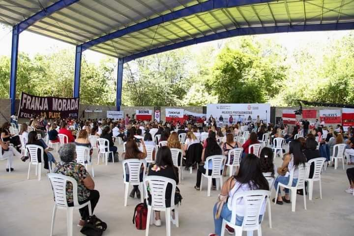 Olavarrienses presentes en el encuentro de Mujeres de Protagonismo Radical