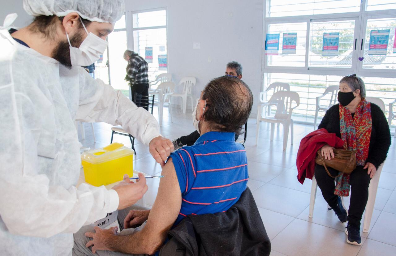 Avanza el plan provincial de vacunación contra el COVID en Olavarría