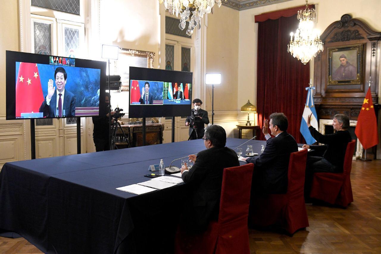 Fuerte respaldo del Parlamento Chino a la Argentina frente al FMI