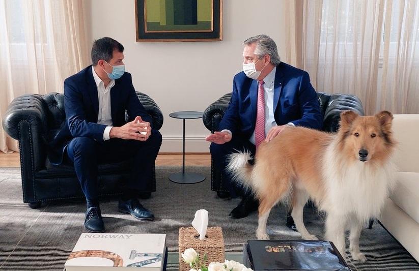 Bucca se reunió con el Presidente y la posibilidad de una candidatura se acrecienta